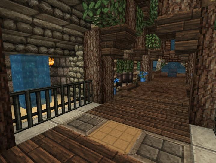 Minecraft Underground Base