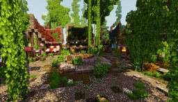 Rustic Village Minecraft Map & Project