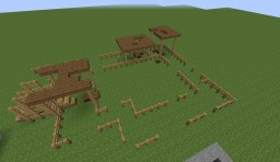 Cattle Ranch [Road To Ruins Build 1] Minecraft Map & Project