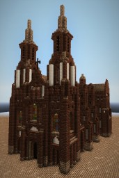 Cathedral | by arbuz36 | and download! Minecraft Map & Project