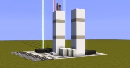 Twin Towers - 9/11 Memorial Build - Pop Reel Minecraft Map & Project