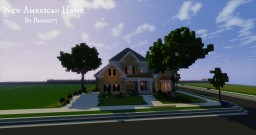 New American Home - WoK Minecraft Map & Project