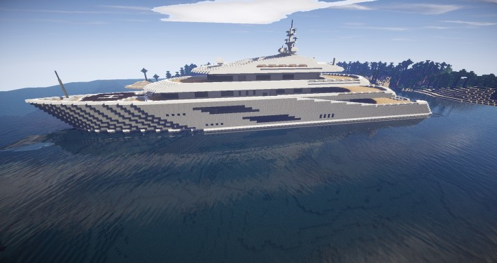 Ourana Super Yacht Minecraft Project
