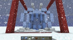 Icy Friend for ADVENT2015 Minecraft Map & Project