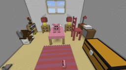 Giant pink bedroom Minecraft Project
