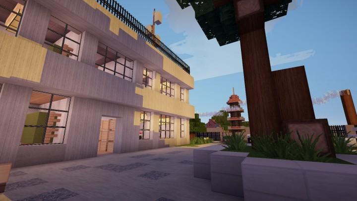 Japanese Village In Minecraft Minecraft Project
