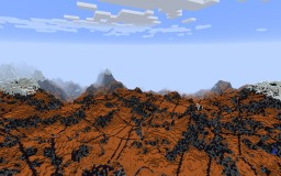 Mars-Realistic Transform (Download Included) Minecraft Map & Project