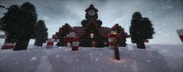 Christmas Mansion Minecraft Map & Project