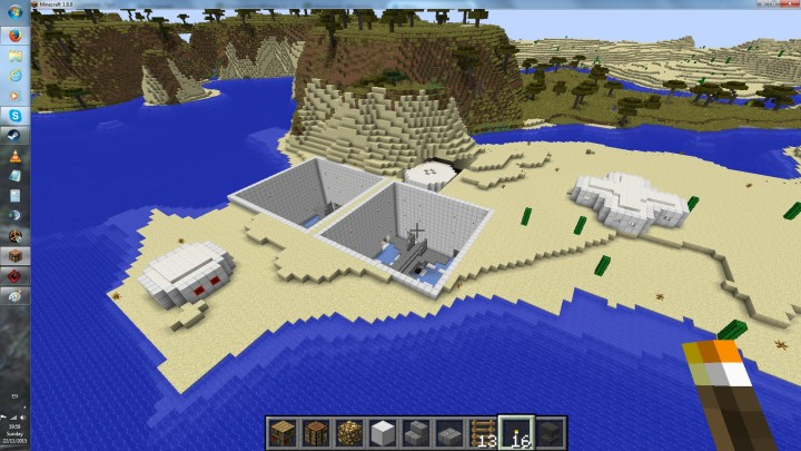 how to make a underground base in minecraft ps3