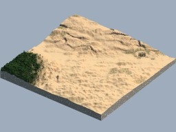 Desert and Jungle terrain Minecraft Project