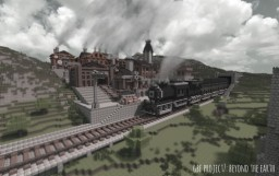 Timelapse Animation - Beyond the Earth Minecraft Map & Project