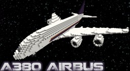 [1.8] A380 Airbus model Minecraft