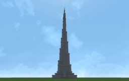Burj Khalifa Minecraft Map & Project