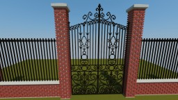 Decorative Gate Minecraft Map & Project