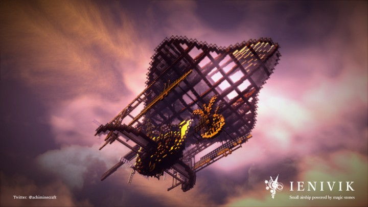 IENIVIK - Small airship powered by magic stones