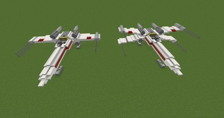 3D Tie fighter and X- wing pack. Just like Turbo Cart Racer's cars ...