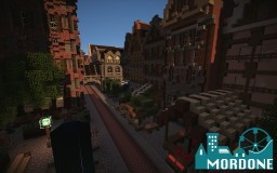 Mordone* small market Square Minecraft Map & Project