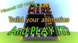 Minecraft GIF Maker - Build and play ANIMATED PICTURES! Minecraft Map & Project