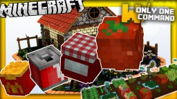 More food mod with only two commands | 10 new food recipes Minecraft