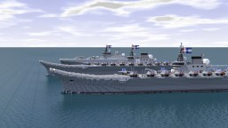 [RP] Nano II-Class Aircraft Carrier(Principe de Asturias) Minecraft Map & Project