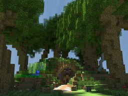 Haru's Hobbit Hole Minecraft Map & Project