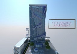 City heights apartment Minecraft Map & Project