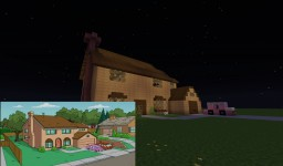 The Simpsons House Minecraft Map & Project