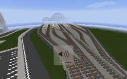 Huge Train Station Minecraft Project