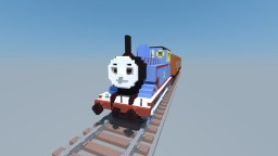 Thomas the Tank Engine with Annie and Clarabel Minecraft Map & Project