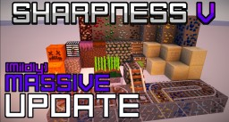 SHARPNESS V - a Sharp PvP-centric Resource Pack! {1.8} {32x} Minecraft