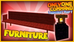 More Funiture with one command! | Sofas & Lamps in Vanilla Minecraft!