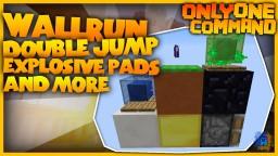 Wallrun, Double Jump, Crawling,... in Vanilla Minecraft! Minecraft Map & Project