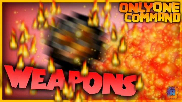 Weapons with only one command block! Video Thumbnail.