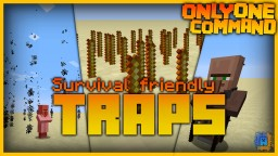 Spike Traps & more with only one command! | Vanilla Minecraft Minecraft Project
