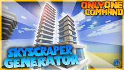 Skyscraper Generator with only one command! | Vanilla Minecraft Minecraft Map & Project