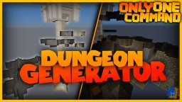 Dungeon Generator in one only command! | Random dungeons! Minecraft Project