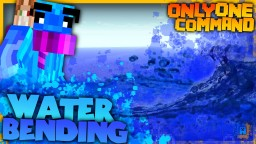 Waterbending in one command! | Summon Waves, Water Explosions and more! Minecraft