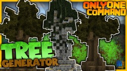 Minecraft - Tree Generator in one command! | Instant Birches, Ice and more trees! Minecraft