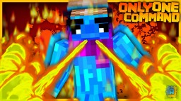 Firebending in one command! | Vanilla Command Creation! Minecraft