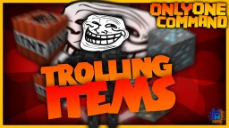 Throwable TNT, Trolling Blocks & Jumpscares in one command! Minecraft Map & Project