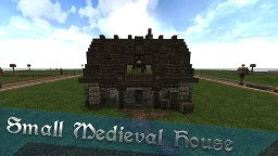 Small Medieval House - Tutorial #WeAreConquest Minecraft Map & Project