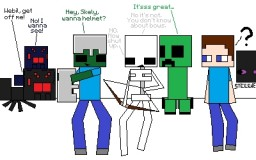 What Mobs Would Say if They Could Talk [Popreel] Minecraft