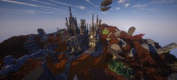 Nuclear Mining Facility - Mars project entry Minecraft Map & Project