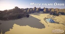 Misty Palms Oasis | Rokucraft Minecraft Map & Project