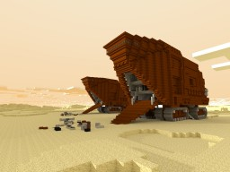 Sandcrawler STAR WARS Minecraft Project