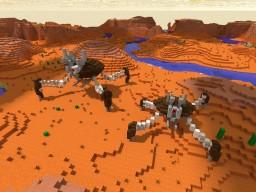 Crab Droid (Big + Small Version) STAR WARS Minecraft Map & Project
