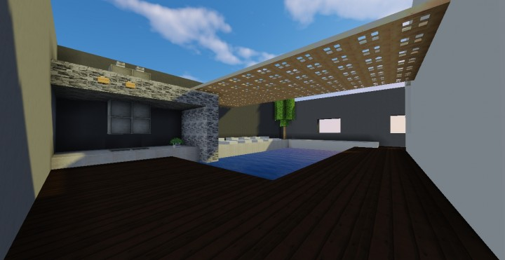 Salle De Bain Moderne Minecraft ~ Idées de Design de Maison