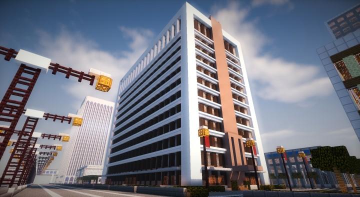 Modern Office Block Minecraft Project
