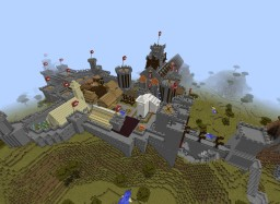 Castle Plateau Minecraft Map & Project