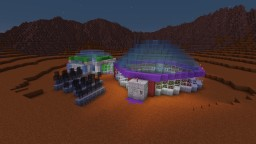 Mars Base Alpha - Four Person Research Station Minecraft Map & Project